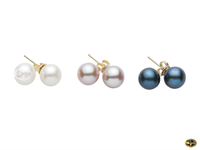 A selection of pearl earrings always available