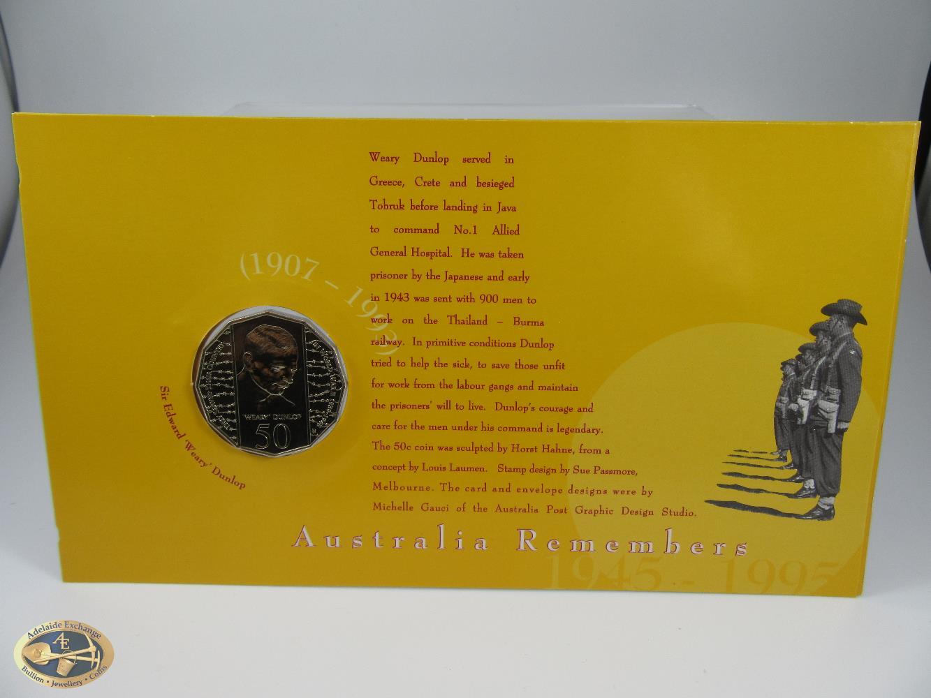 1995 Australia Sir Edward Dunlop PNC