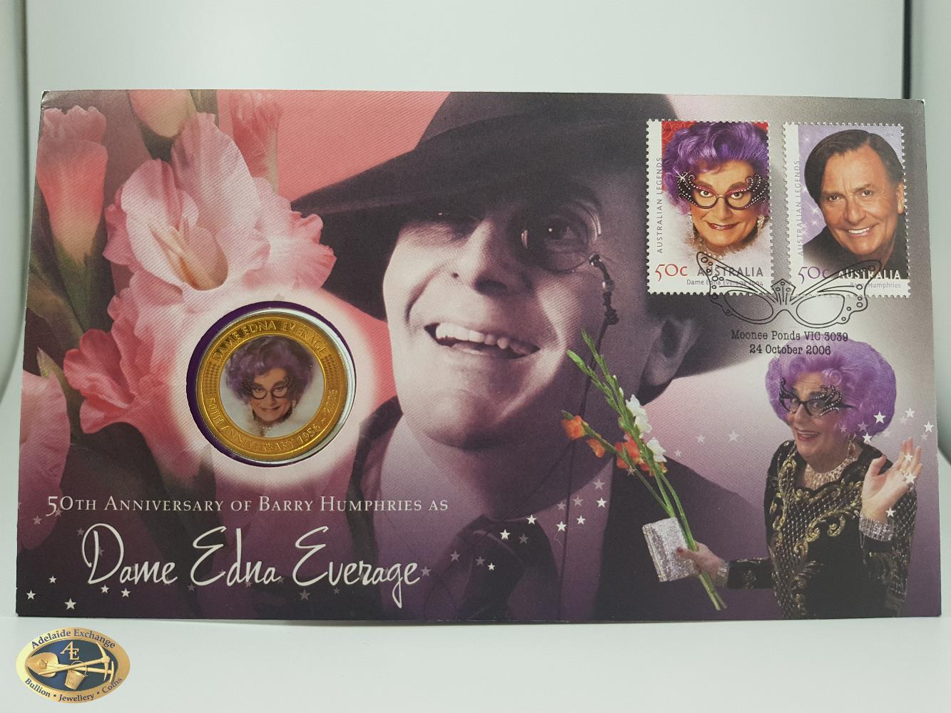 2006 50th Anniversary Of Barry Humphries As Dame Edna